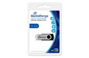 MEDIA RANGE USB FLASH DRIVE 8GB